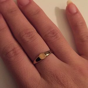 MADEWELL Gold Signet Ring